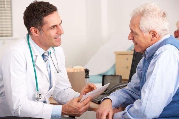старичок у врача